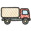 Lithographix printing truck icon